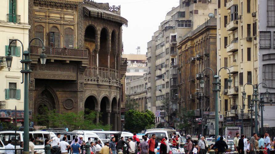 أحد شوارع بالعاصمة المصرية القاهرة_أرشيف