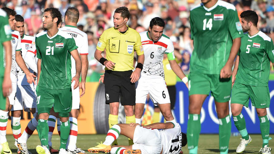 آخر مواجهات العراق وإيران في الكأس الآسيوية انتهت بفوز أسود الرافدين في 2015