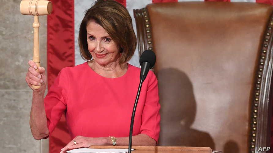 بيلوسي الرئيسة الجديدة لمجلس النواب الأميركي