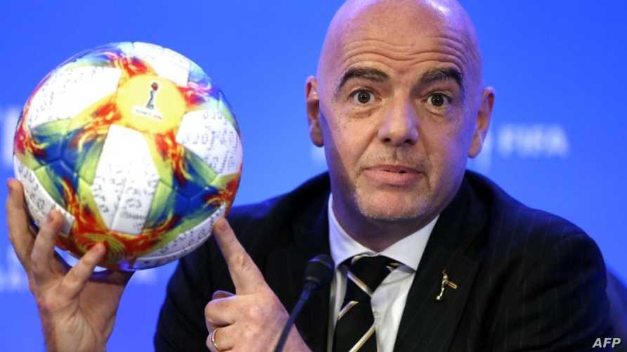 جياني إنفانتينو - رئيس الاتحاد الدولي لكرة القدم