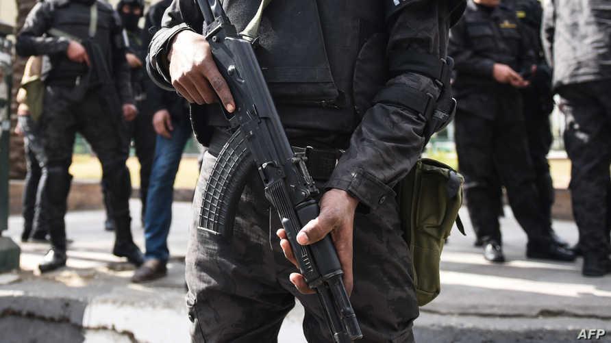 عناصر في الشرطة المصرية- أرشيف