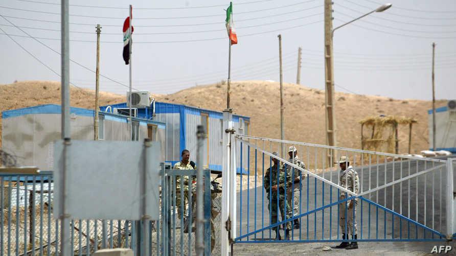 معبر المنذرية الحدودي بين العراق وإيران