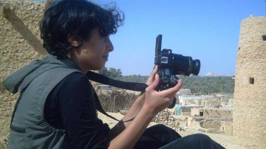 الناشطة المصرية شيماء الصباغ..من صفحتها الرسمية على فيسبوك