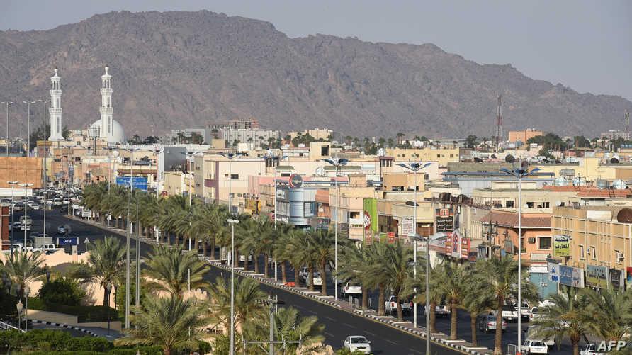 جانب من مدينة نجران السعودية