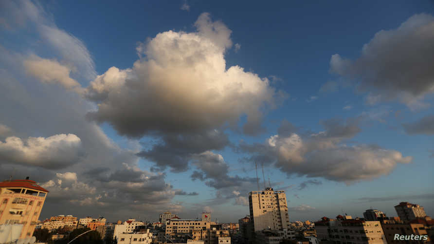 منظر عام لمدينة غزة