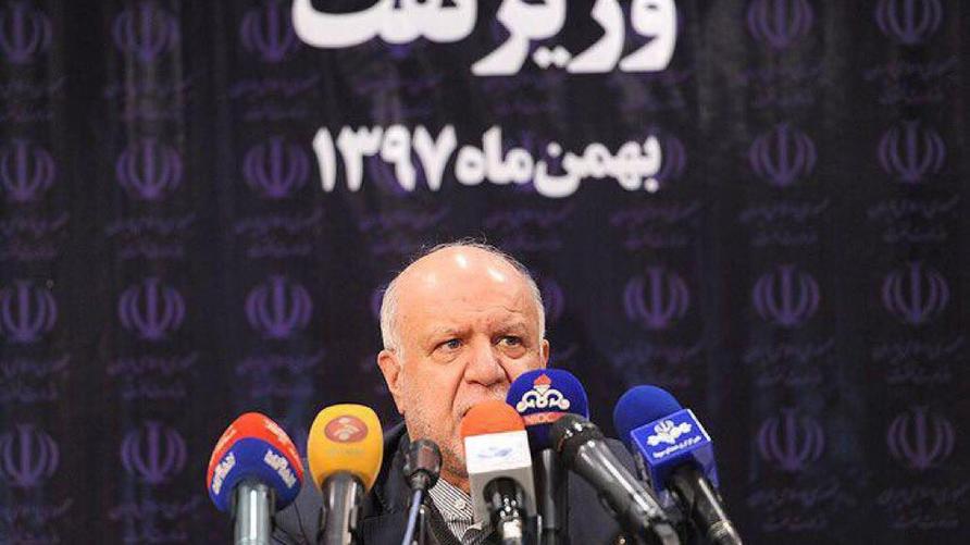 وزير النفط الإيراني بيجن زنكنه