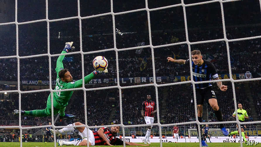 إيكاردي يسجل هدف الفوز لإنتر ميلان