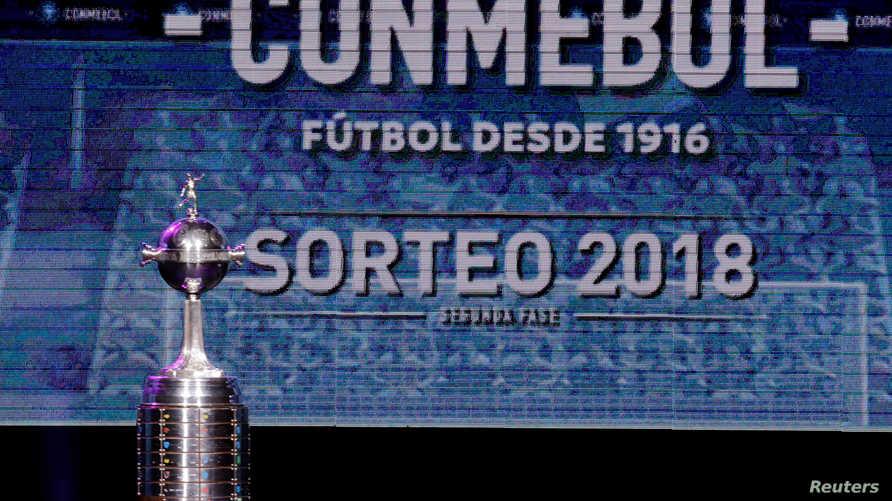 من حفل اختيار أفضل لاعبي بطولة كوبا ليبرتادوريس- باراجواي