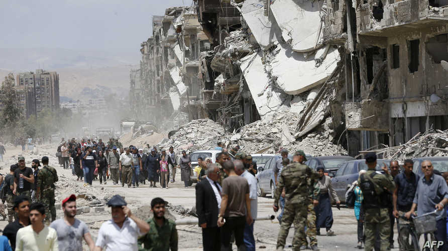 ضواحي دمشق