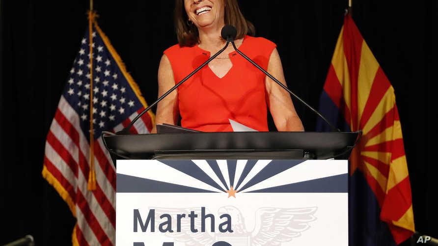 المرشحة الجمهورية في أريزونا مارثا ماكسالي