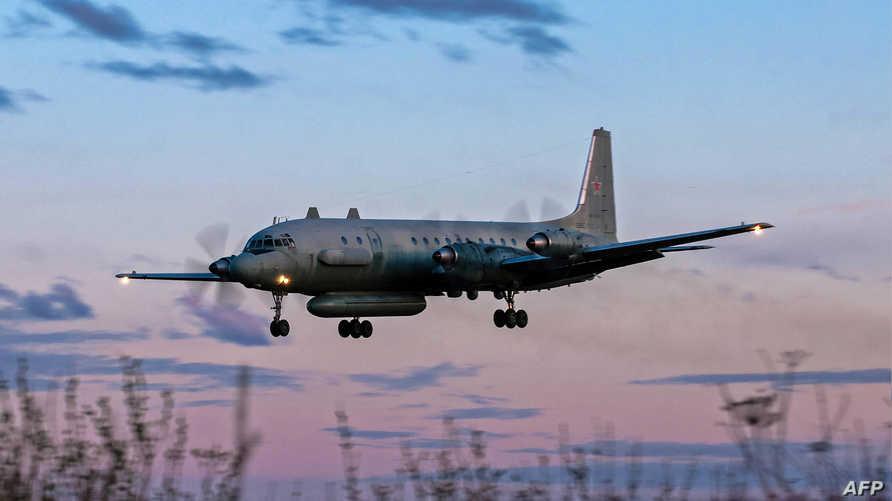 طائرة روسية من طراز IL-20M