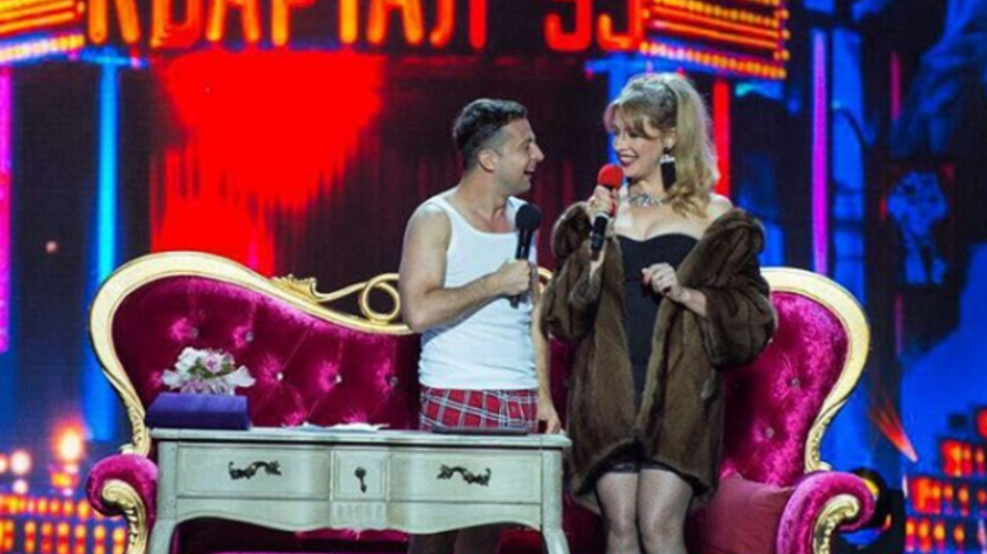 الممثل الكوميدي الأوكراني فولوديمير زلنسكي
