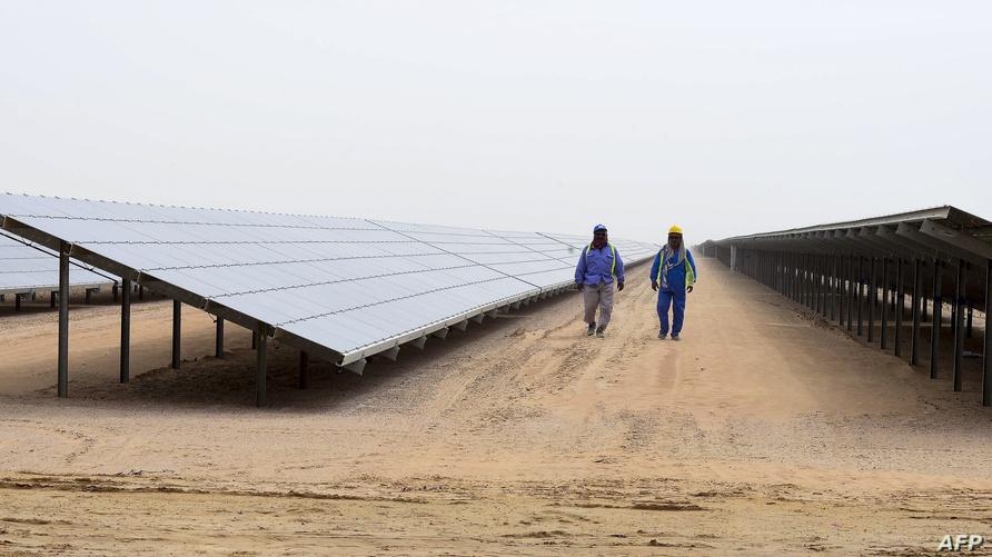 مشروع الطاقة الشمسية في دبي