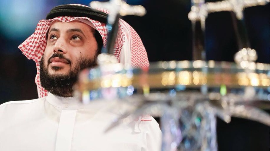 تركي آل الشيخ.
