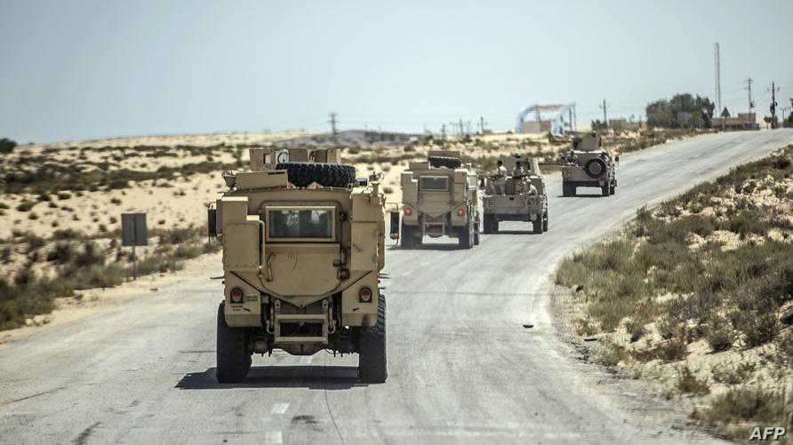 قوات الأمن المصرية في شمال سيناء