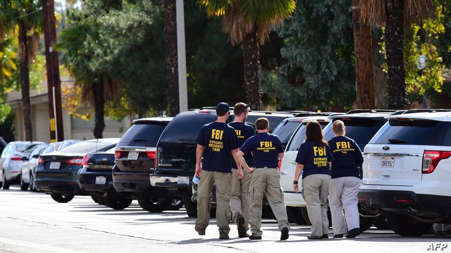 عناصر في مكتب التحقيقات الفدرالي
