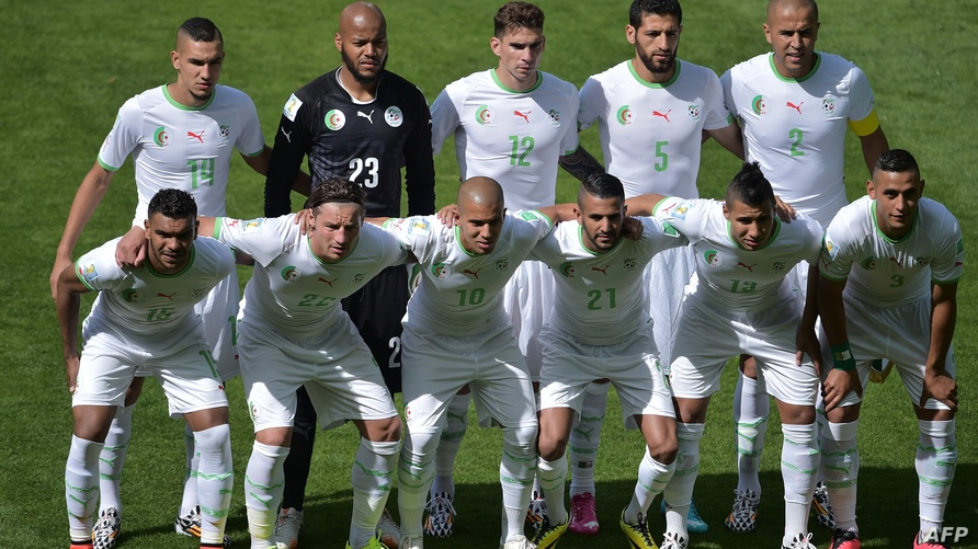 تشكيلة المنتخب الجزائري