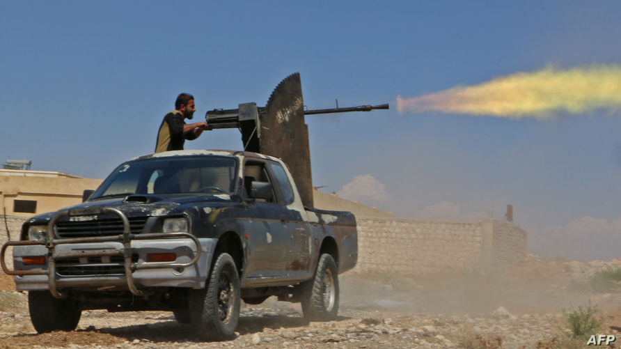 أحد مقاتلي المعارضة في إدلب