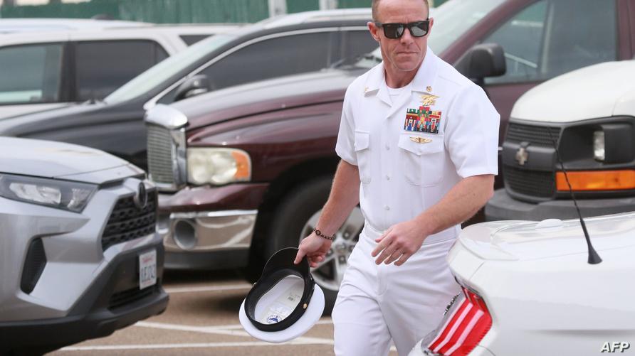 ضابط الصف في وحدة القوات الخاصة بالبحرية الأميركية إدوارد غالاغر
