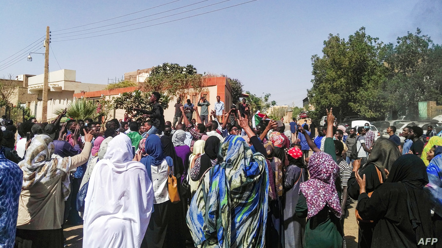 من مظاهرات السودان. أرشيفية