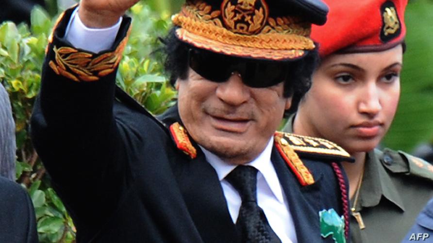 معمر القذافي (أرشيف)