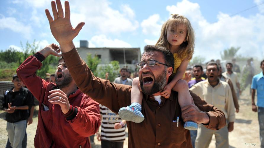 لاجئون سوريون هربوا من الرعب إلى تركيا