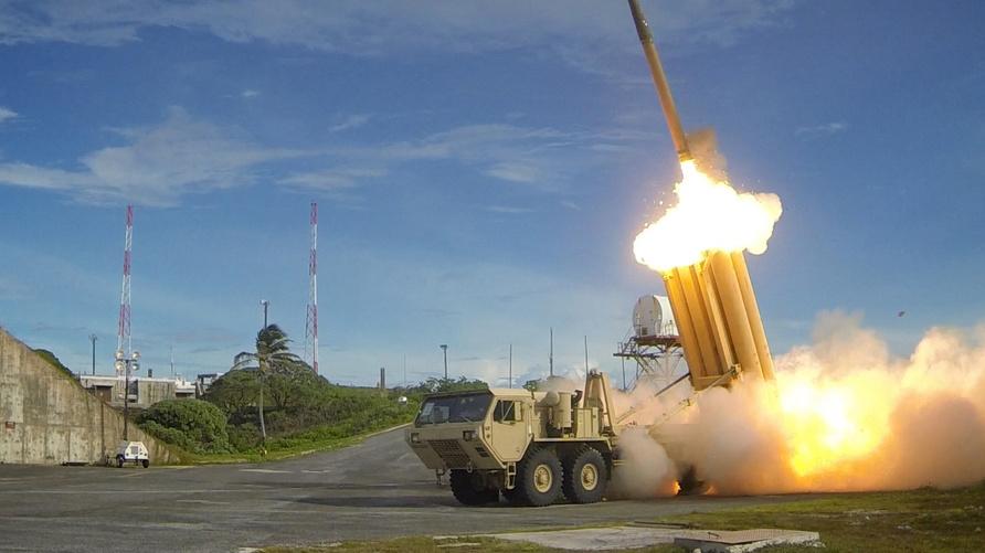 صواريخ ثاد أميركية