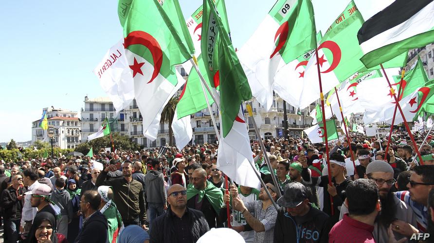 متظاهرون في العاصمة الجزائر - أرشيف