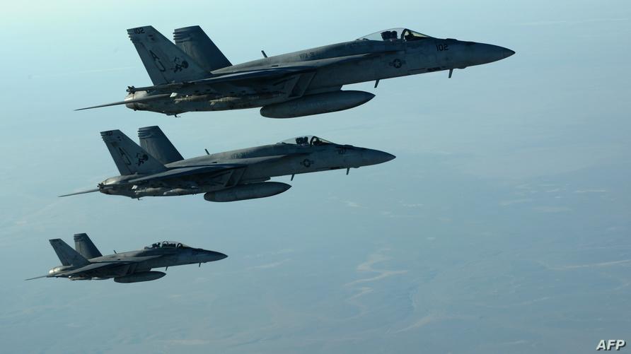 طائرات أميركية مشاركة في الحرب على داعش