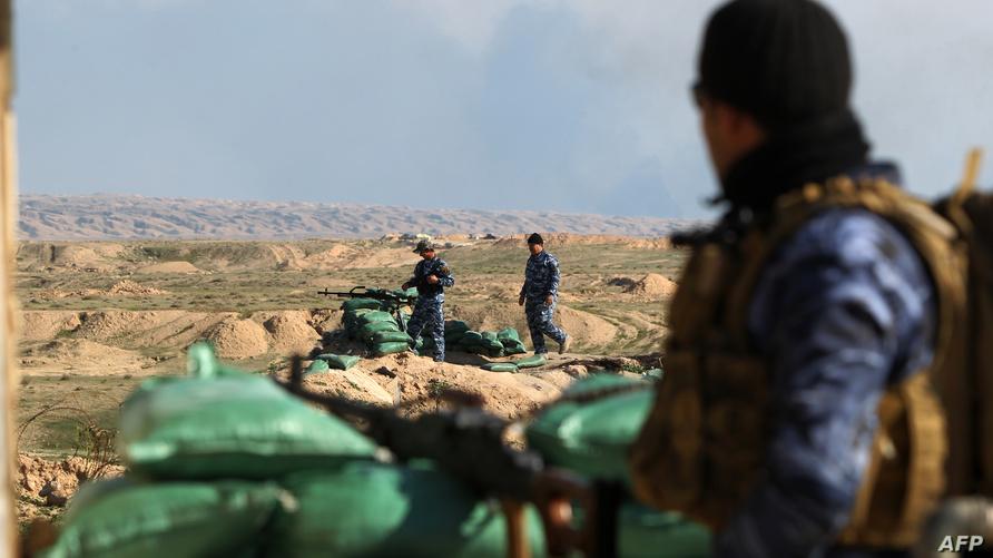 قوات عراقية في محافظة صلاح الدين