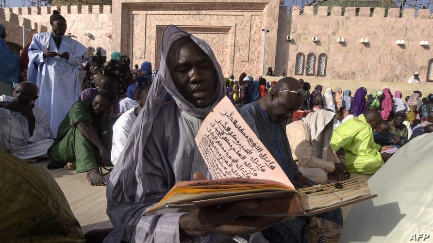 مجموعة صوفية في السنغال