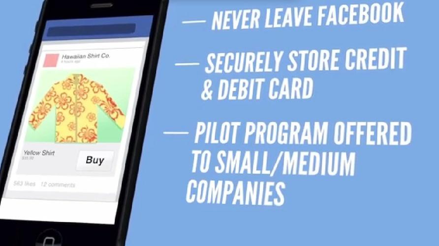 فيسبوك يختبر زر الشراء