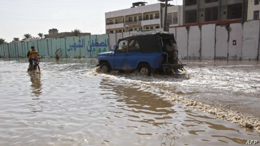 سيول سابقة في بغداد - أرشيف