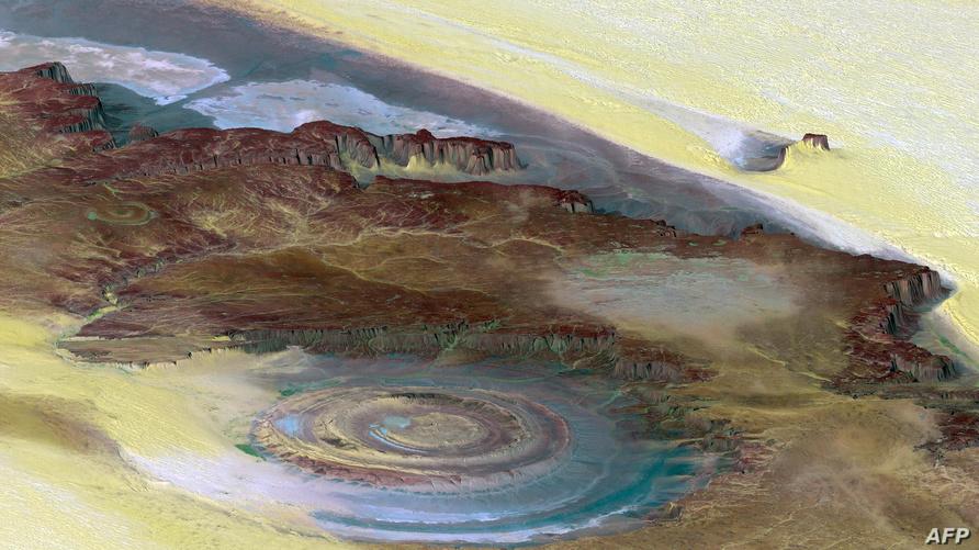 عين الصحراء - ظاهرة طبيعية في موريتانيا