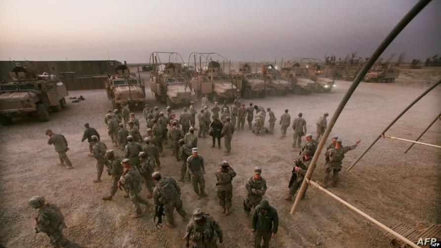القوات الأمنية العراقية بدأت بتسلم قاعدة القائم العسكرية