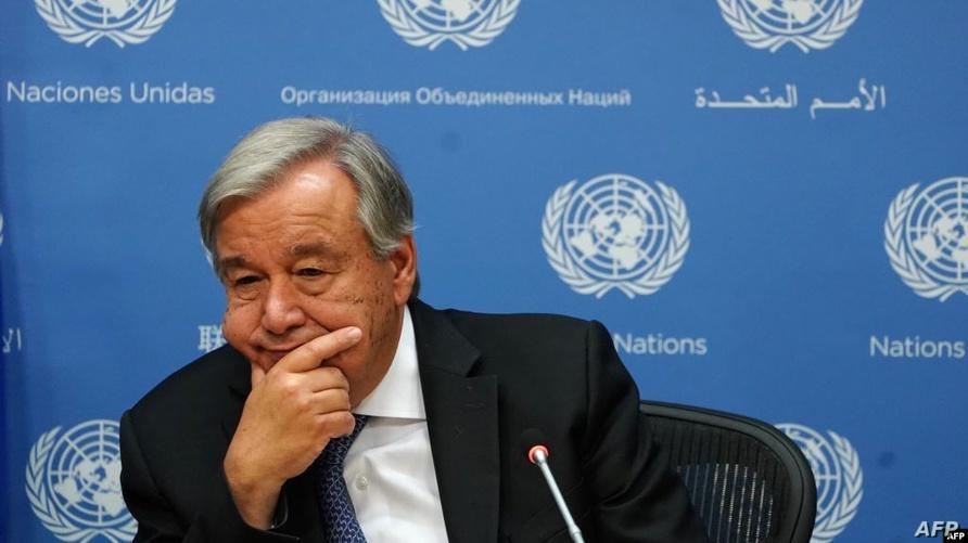 الأمين العام للأمم المتحدة أنطونيو غوتيرش