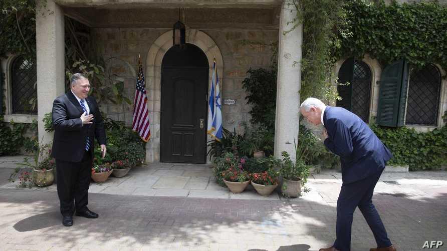 بومبيو يبحث خطة السلام الأميركية في إسرائيل