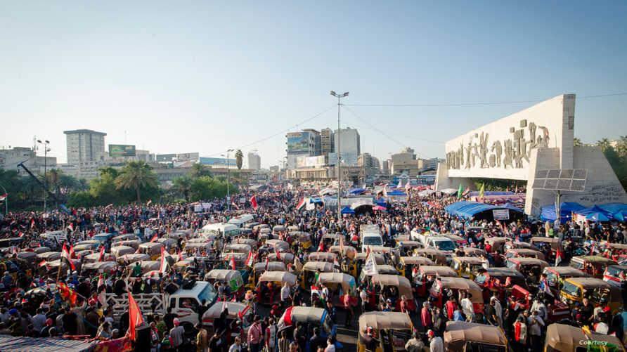 التظاهرات في العراق