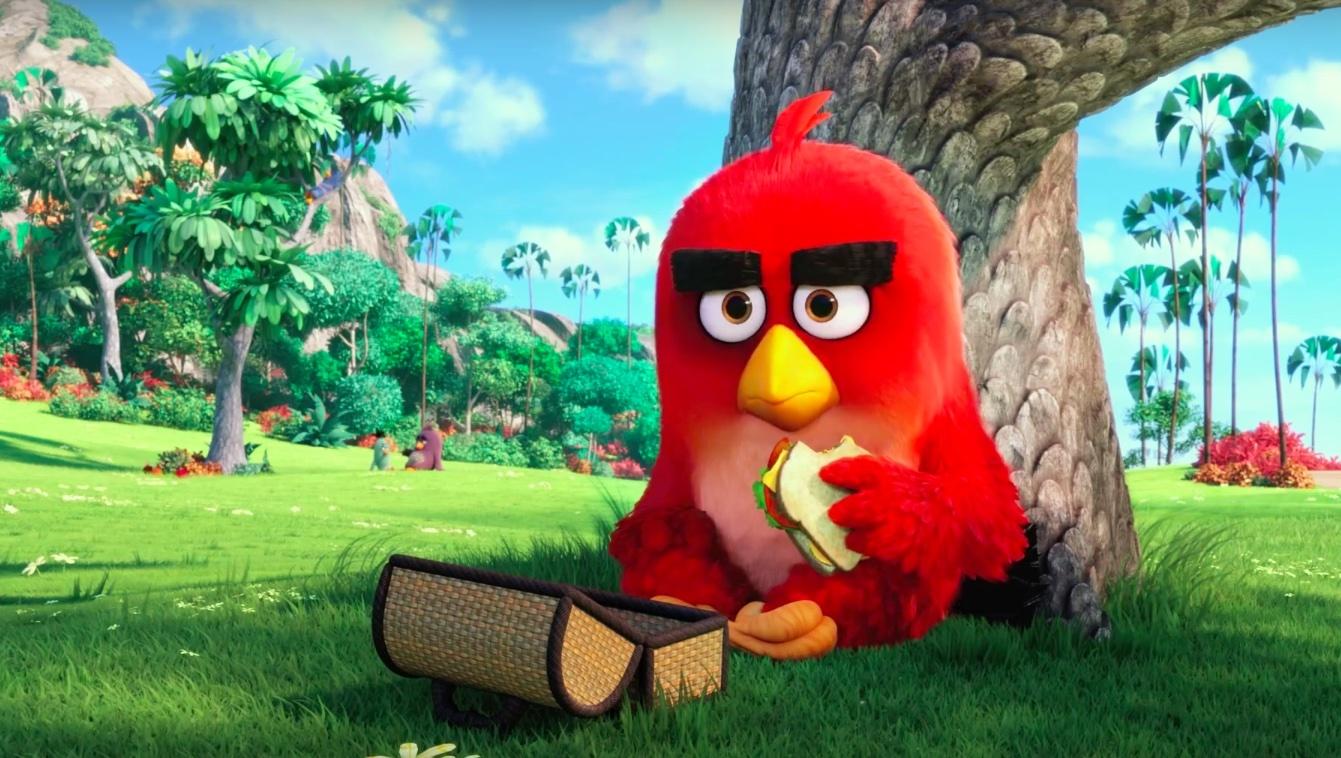 فيلم الطيور الغاضبة