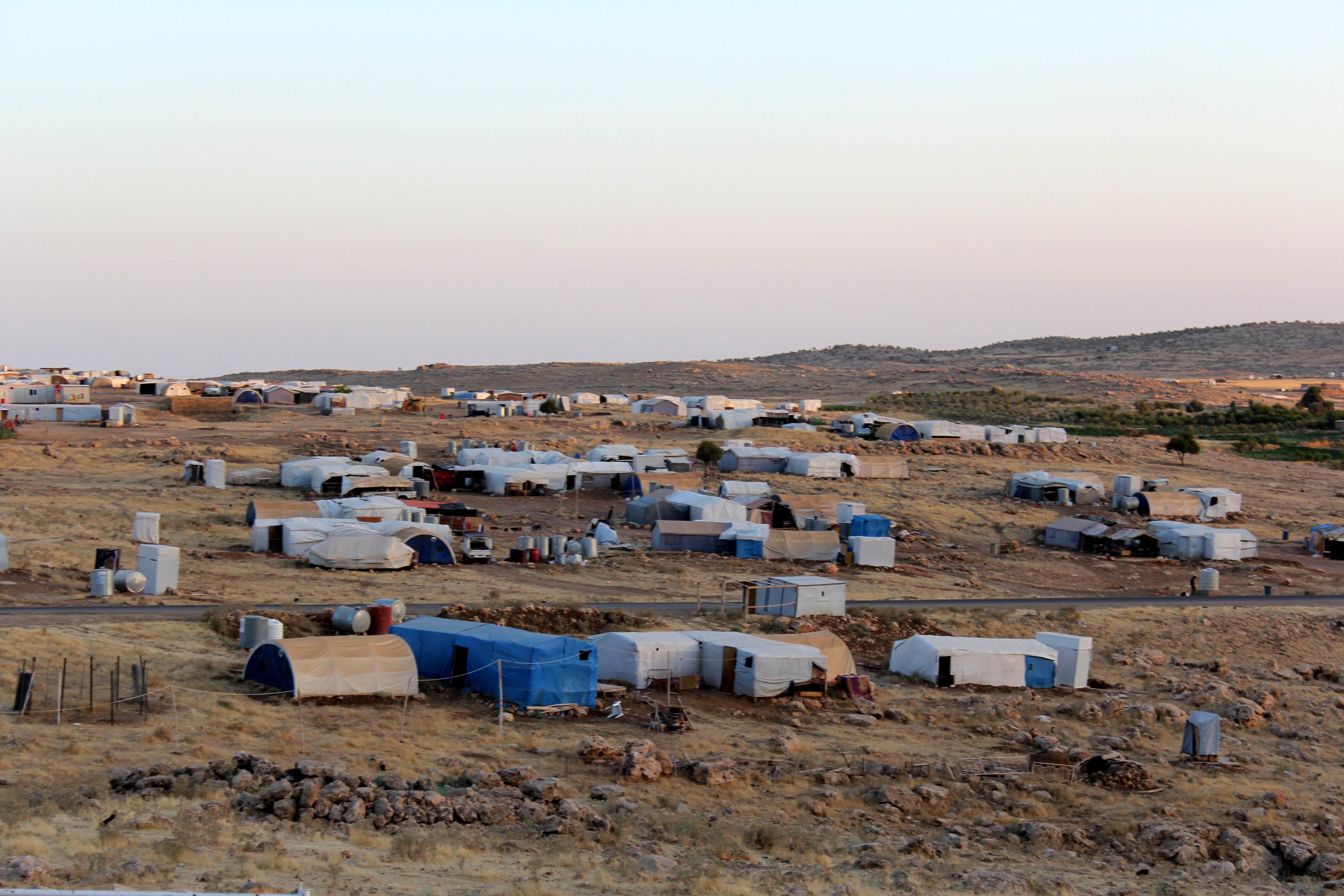 مخيم سردشت في جبل سنجار/ إرفع صوتك