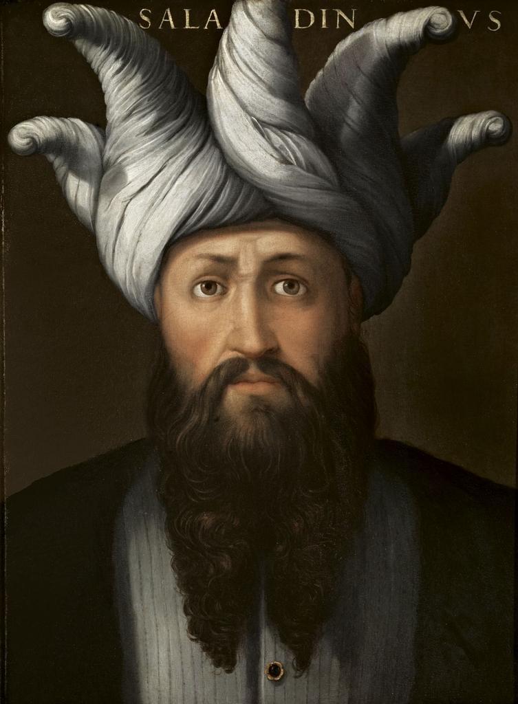 """لوحة """"صلاح الدين""""، لكريستيفانو ديل ألتيسيمو، 1568."""