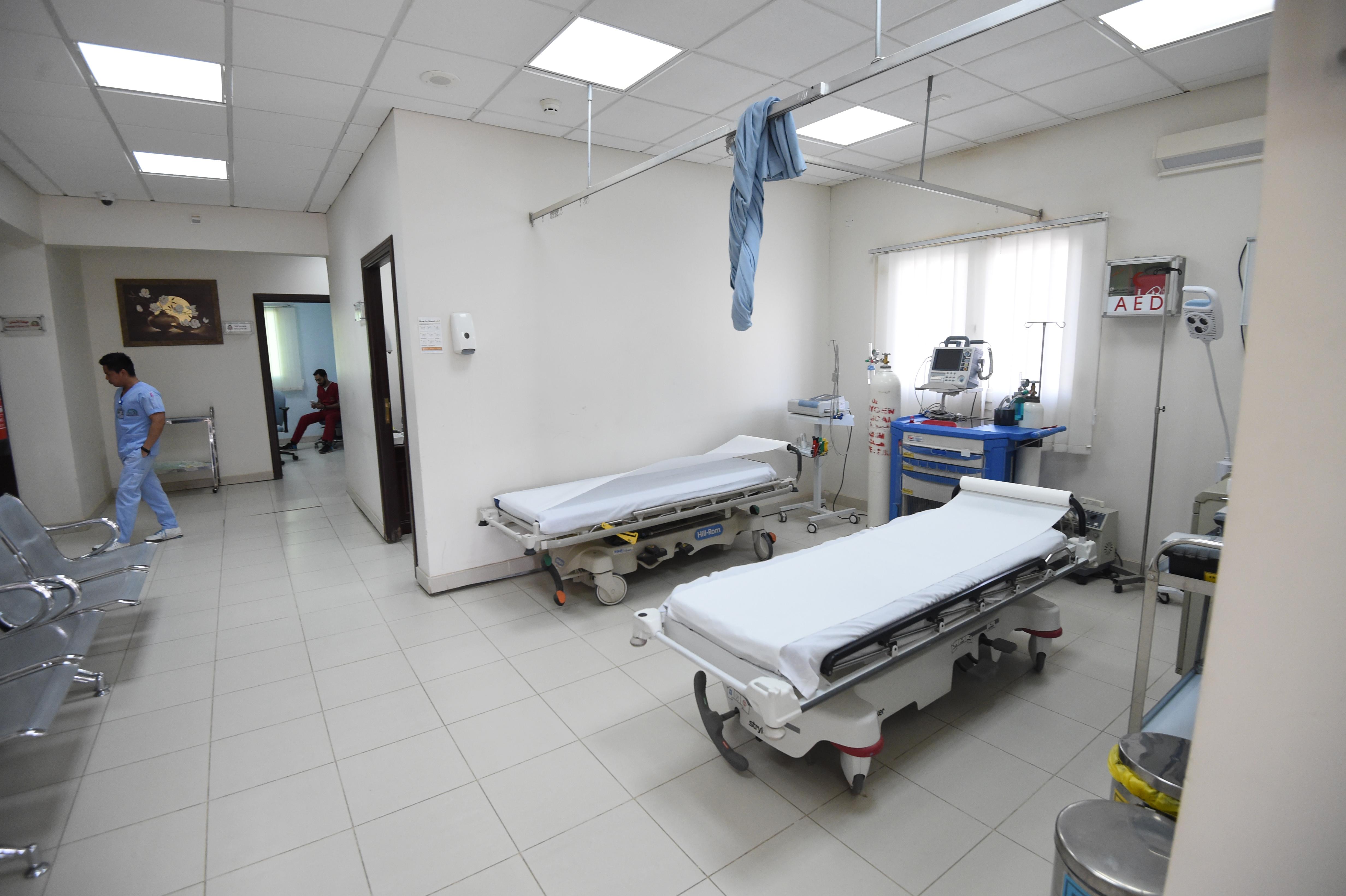 العيادة الطبية داخل مركز محمد بن نايف للمناصحة/وكالة الصحافة الفرنسية