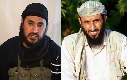 لجأ ناصر الوحيشي (يمين) وأبو مصعب الزرقاوي (يسار) إلى إيران عقب الاجتياح الأميركي لأفغانستان.