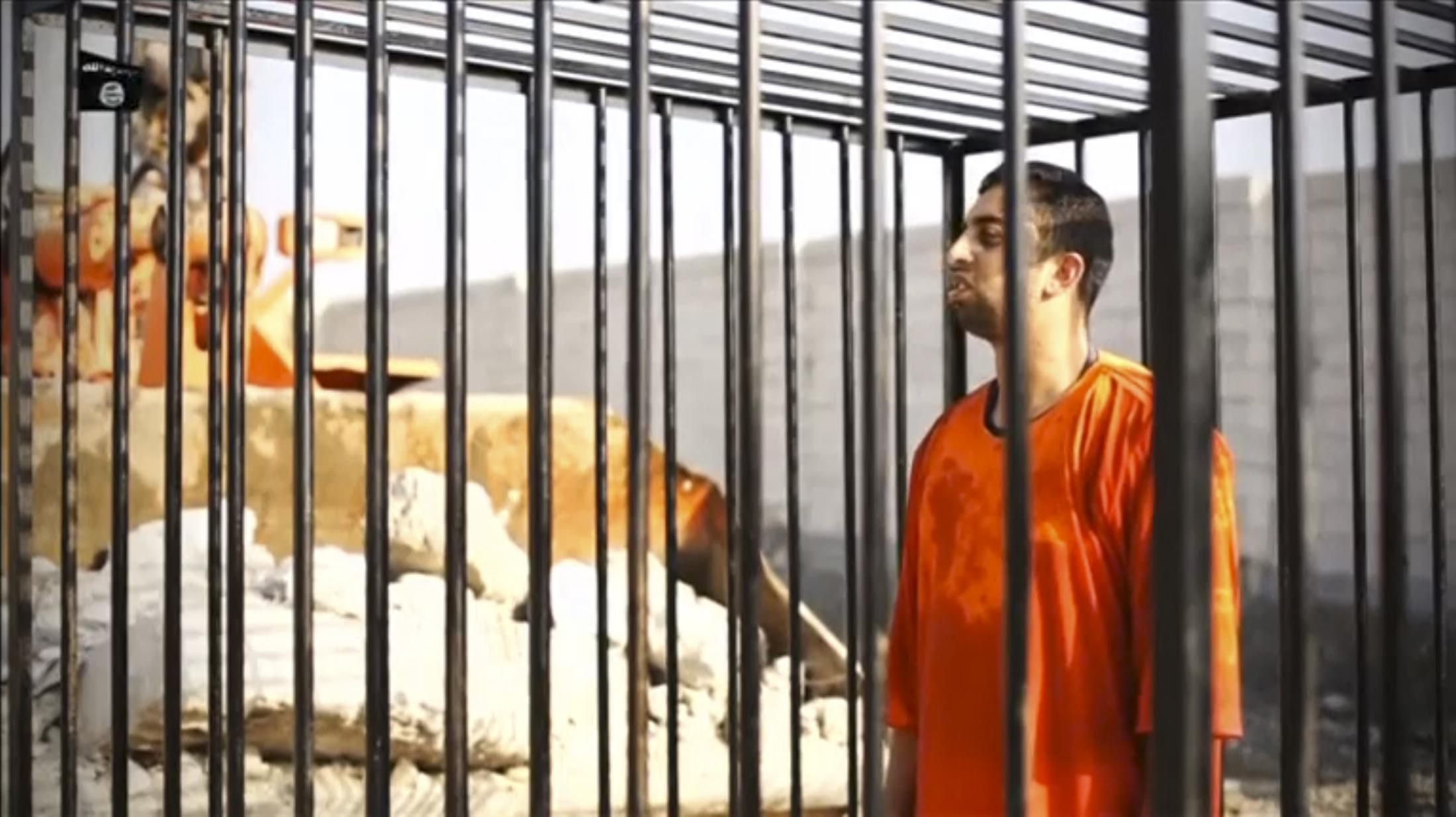الطيار الأردني معاذ الكساسبة الذي أعدمه تنظيم داعش