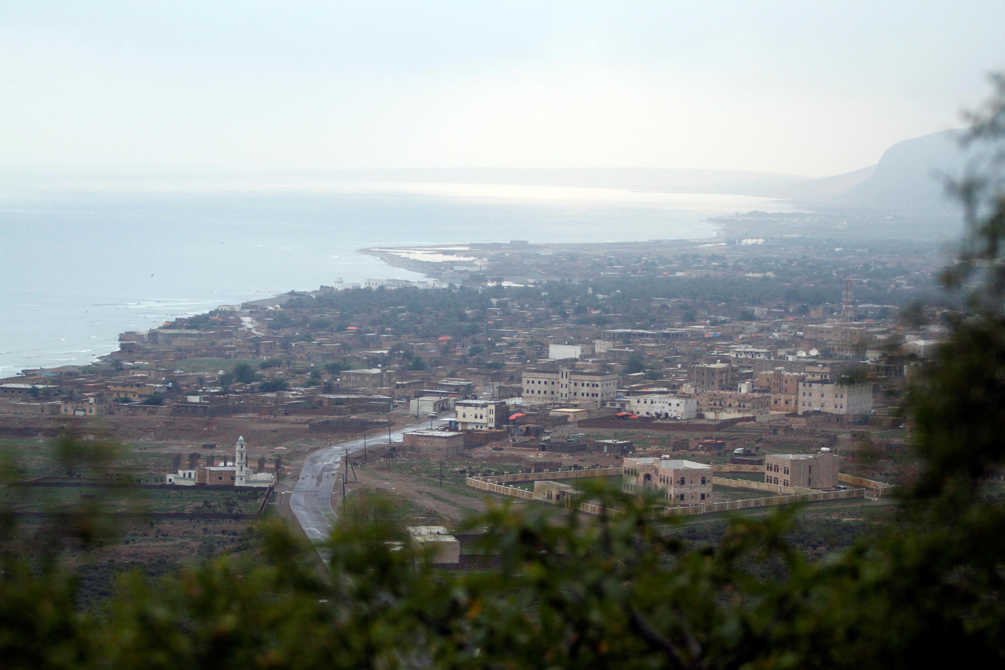 مدينة حديبو في جزيرة سقطرى اليمنية