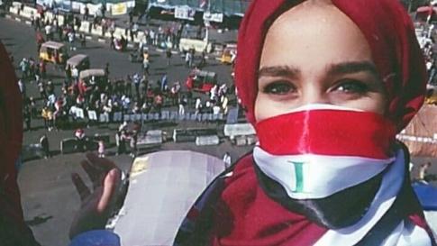 الشاعرة نورس الجابري/ الصورة من صفحتها في فيسبوك