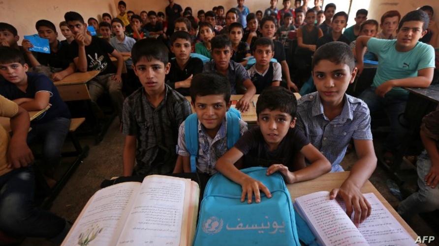 طلاب في الموصل