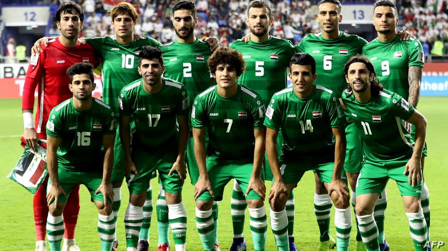المنتخب العراقي خلال مشاركته في كأس آسيا بالإمارات