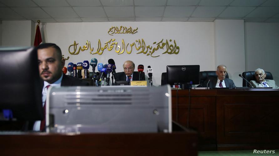 القاضي مدحت المحمود يترأس جلسة للمحكمة الاتحادية للنظر في طعون متعلقة بتعديل قانون الانتخابات