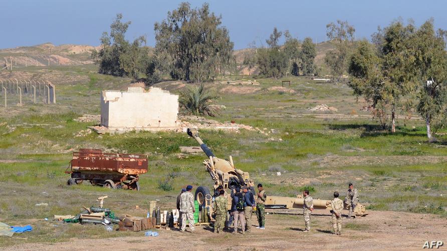 قوات عراقية تتواجد على الحدود الشمالية لمحافظة ديالى/وكالة الصحافة الفرنسية